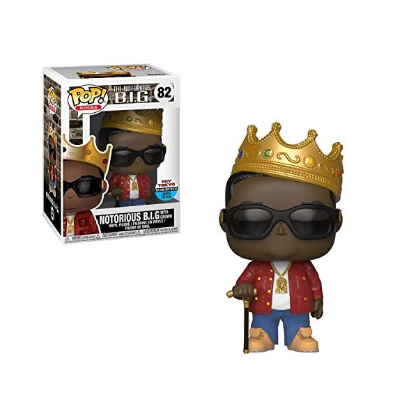 FUNKO POP! ROCKS - Notorious B.I.G. (with jersey) (Toys) 1