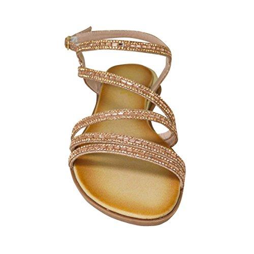 Ciara - Sandalias de vestir de Material Sintético para mujer dorado