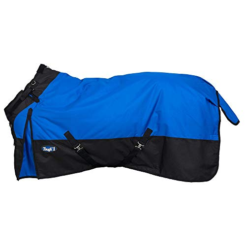 Tough 1 1200D Snuggit Turnout 300g 75In Royal Blue (Horse Navy Blanket Blue)