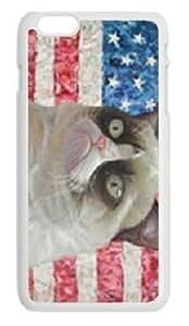 Alexgeorge Custom Design Grumpy Cat Case For Iphone 6 Plus(5.5 inch)