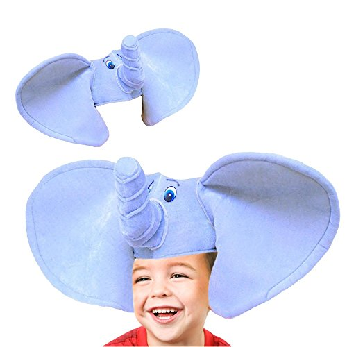 [Toy Cubby Plush Party Soft Elephant Hat Costume] (Elephant Costume 4 Year Old)