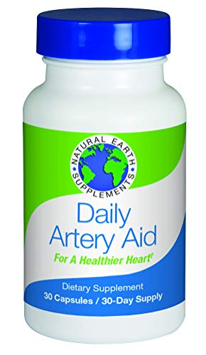 Daily Artery Aid Supplement for Heart Health Support, addresses Longevity & Health Issues Like Poor Circulation & Targets clogged Arteries. Helps Remove toxins & Supports Clean Supple Arteries (1)