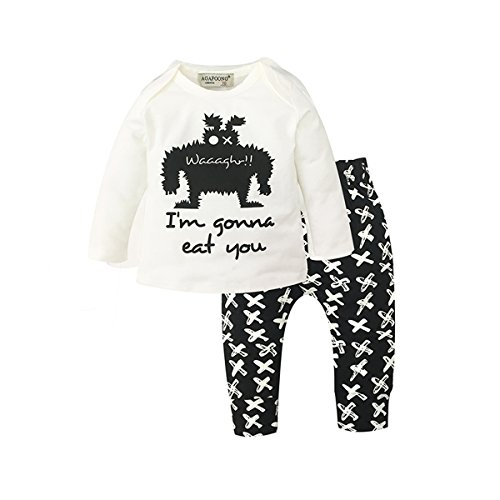 Halloween Costume For Kids Girls Boys Baby Toddlers, Cute Pajamas Costumes Shirt Cotton Party Scary (Old Navy Infant Halloween Costumes)