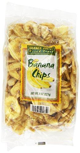 Dried Banana Organic (Trader Joe's Banana Chips 8 Oz Pack of 3)