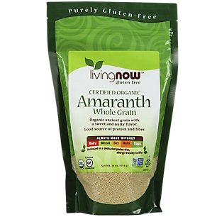 NOW Foods Organic Amaranth Grain - 1 lb