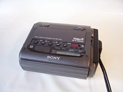 Amazon com: Sony 8mm video8 NTSC Video cassette recorder player sony