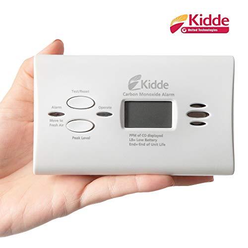 Kidde Battery Operated Carbon Monoxide Alarm with Digital Display KN-Copp-B-LPM