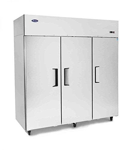 Atosa USA MBF8006 Top Mount (3) Three Door Refrigerator by Atosa USA