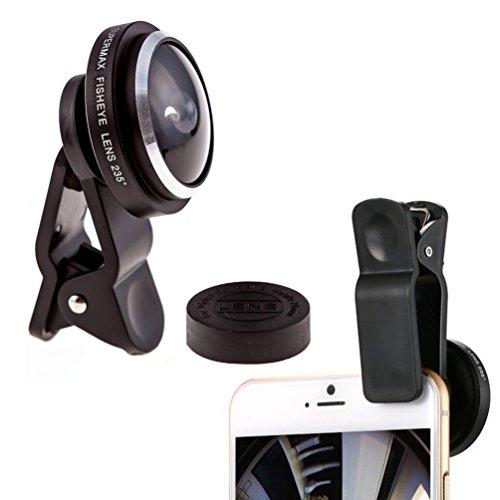 KINGMAS Universal 235 Degree Super FishEye Lens Clip-on for iPhone 7 4.7