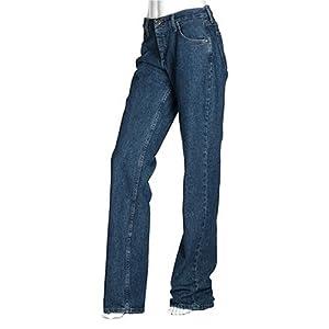 Wrangler Women's 20x Tulsa Low Rise Slim Fit Straight Leg Jean, Chem Stone