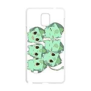 bulbasaur pokemon Samsung Galaxy Note 4 Cell Phone Case White Tribute gift PXR006-7598749