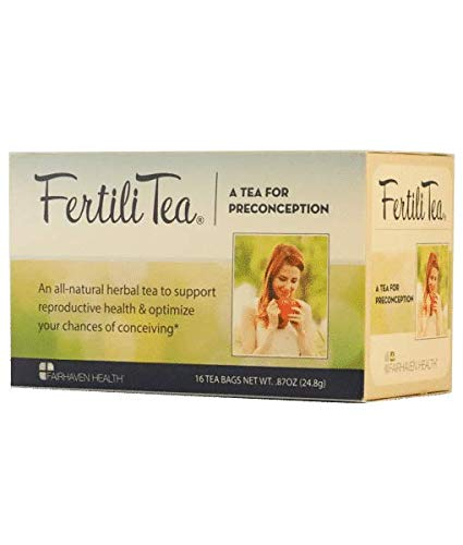 Fairhaven Health Fertili Tea for Preconception (16 Tea Bags, 24.8g)