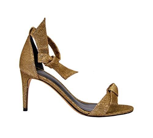 Price comparison product image Alexandre Birman Luxury Fashion Womens Sandals Winter Gold