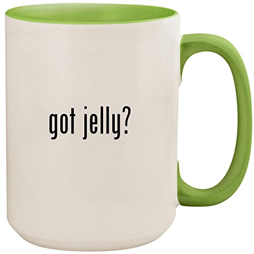 got jelly? - 15oz Ceramic Colored Inside and Handle Coffee M