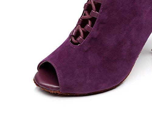 5cm heeled8 Samba Danse Chaussures Chaussures JSHOE Talons Our36 De Tango Salsa Sandales Thé Hauts UK4 Pour EU35 B Femme Latine Moderne Jazz zqUTxwU