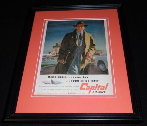 Original 1951 Framed Advertisement - 9