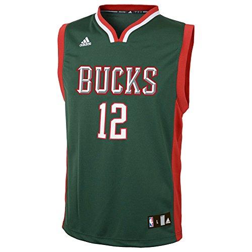 NBA Youth 8-20 Milwaukee Bucks Parker Replica Road Jersey-Hunter-M(10-12)