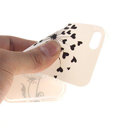 Custodia iPhone 5 5S SE , LH Pu Gongying TPU Silicone Cristallo Morbido Case Cover Custodie per Apple iPhone 5 5S SE