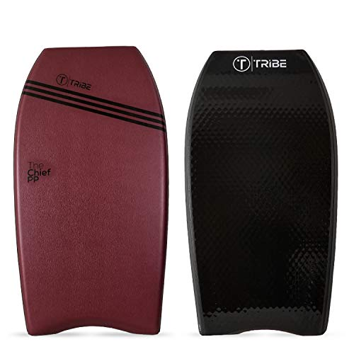 The Chief PP Bodyboard – Made for Big Guy Bodyboarders | Larger Riders Will Enjoy The Waves | Heavy People Will Float