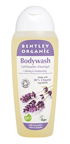 Bentley Organic Calming and Moisturizing Bodywash, Lavender Aloe and Jojoba, 8.4 Fluid Ounce
