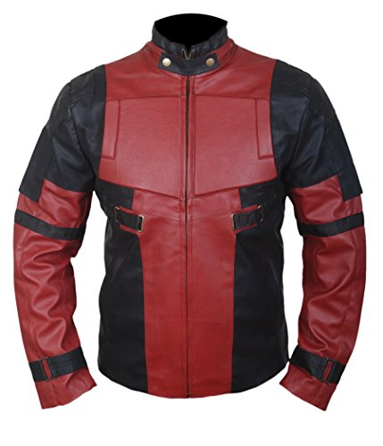 F&H Boy's Deadpool Ryan Reynolds Jacket XL Black - Deadpool Costume Ryan Reynolds