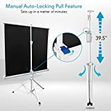 Portable Projector Screen Tripod Stand by Pyle