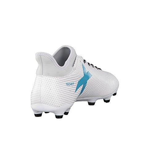 adidas X 17.3 Fg, Botas de Fútbol para Hombre Blanco (Ftwbla/Azuene/Gritra)