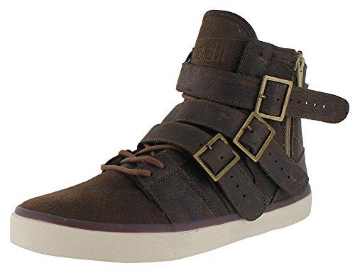 Radii Straight Jacket Vulc Men's Hightop Sneakers Shoes Brown Size 10