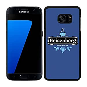 Funda carcasa para Samsung Galaxy S7 Edge diseño Heisenberg 6 borde negro