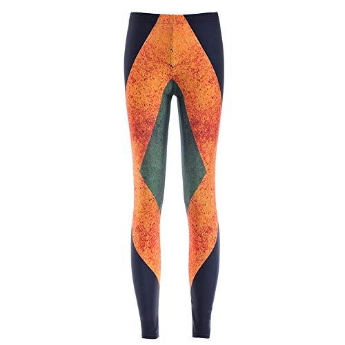 De Abchic Mujer Multicolores Leggings 40 PPr7qw5E