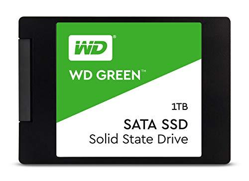 Western Digital WD Green – Internal SSD 2.5″ SATA, 1 TB – WDS100T2G0A