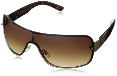Rocawear R1210 Shield Sunglasses,Gold,165 - Mens Sunglasses Rocawear