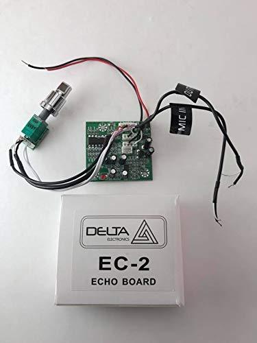 DELTA EC2 CB Echo Board Turbo Echo プロ仕様 IC CB ハムラジオ用 2インチ x 2インチ サイズ B07HJC6SXM