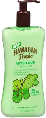 Hawaiian Tropic Lime Coolada After Sun Moisturizer 16 oz Pack of 5