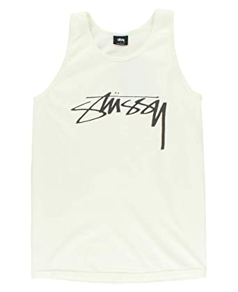 36bb6768e91667 Stussy Smooth Stock Pig Dyed Tank Men s at Amazon Men s Clothing store