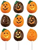 Lollipop Candy Mold: Jack-O-Lantern