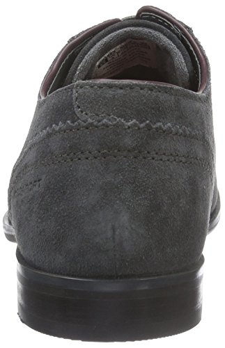 Rockport Birch Lake Blucher, Zapatos de Cordones Derby para Hombre Gris