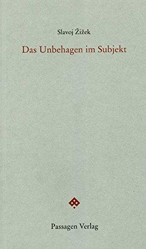 Das Unbehagen im Subjekt (Passagen Philosophie)