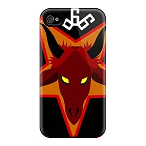 Iphone 4/4s MFl19830DqHE Unique Design Attractive Disavowed Band Skin Great Hard Cell-phone Case -JamieBratt