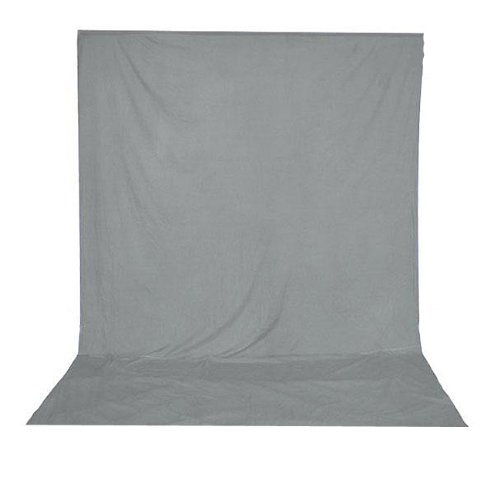 ePhotoInc 5 x 7 ft Video Photography Portrait Muslin Backdrop Background Grey 57GREY by ePhotoinc