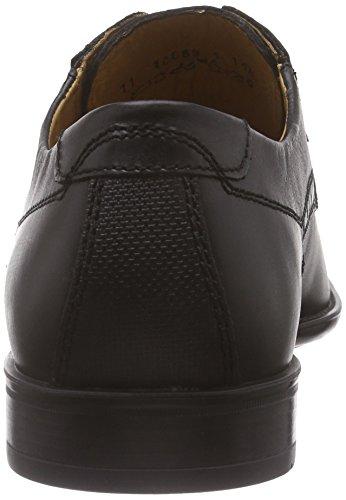 FRETZ menTosco - Zapatos Derby Hombre Negro - Schwarz (51 noir)