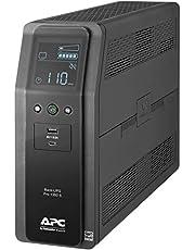 APC BR1350MS Sine Wave UPS Battery Backup & Surge Protector, 1350VA, Backups Pro, Black