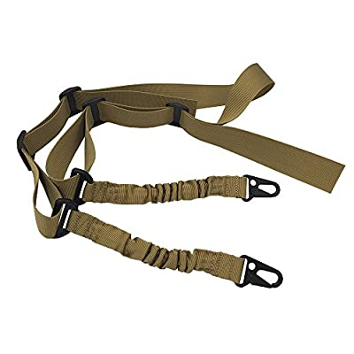Rifle Slings JTENG ® Multi-use 2 Point 2-in-1 Rifle Gun Sling Adjustable Strap Cord for Outdoor Sports, Hunting