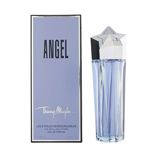 - Angel By Thierry Mugler Eau De Parfum Spray Refillable 3.4 Oz