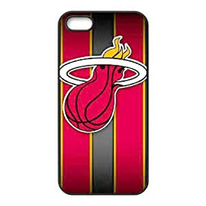 iPhone 5,5S Cell Phone Case Black Miami Heat AFK348206