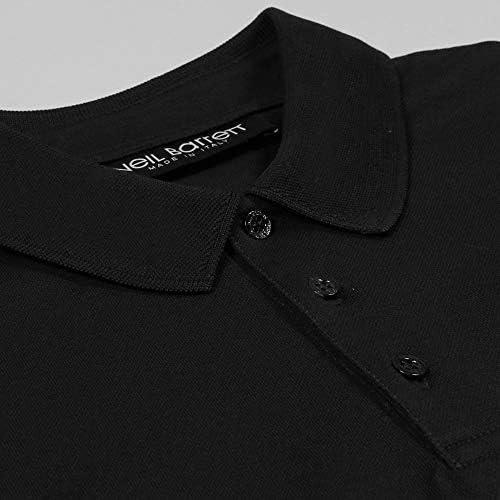 Neil Barrett Brazo relámpago Polo Camisa Black Extra Large: Amazon ...