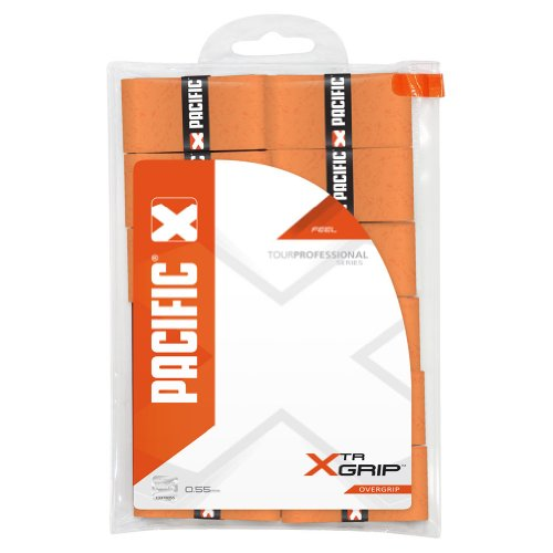 Pacific XTR Tennis OverGrip 12 Pack - ORANGE
