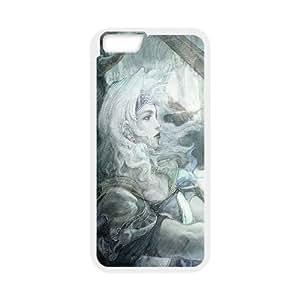 Fantasy Art IPhone 6 Plus Cases, Iphone 6 Plus Case Cute Funny Okaycosama - White