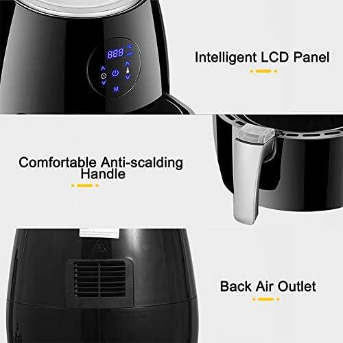 Air Fryer 1350W 3.8L Elektrische Frituurpan Air Fryer digitale LED Touch Screen Timer Temperature Control Power Oil Free Air Fryer Electric