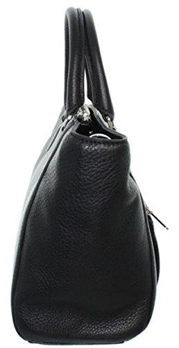 Mac douglas - Bolso de asas de Piel para mujer negro negro